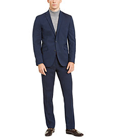 Unlisted by Kenneth Cole Men's Slim-Fit Stretch Navy Suit