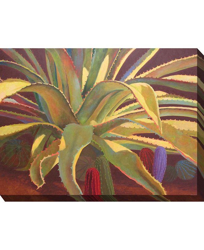 """West of the Wind Sundown Wall Art, 40"""" x 30"""""""