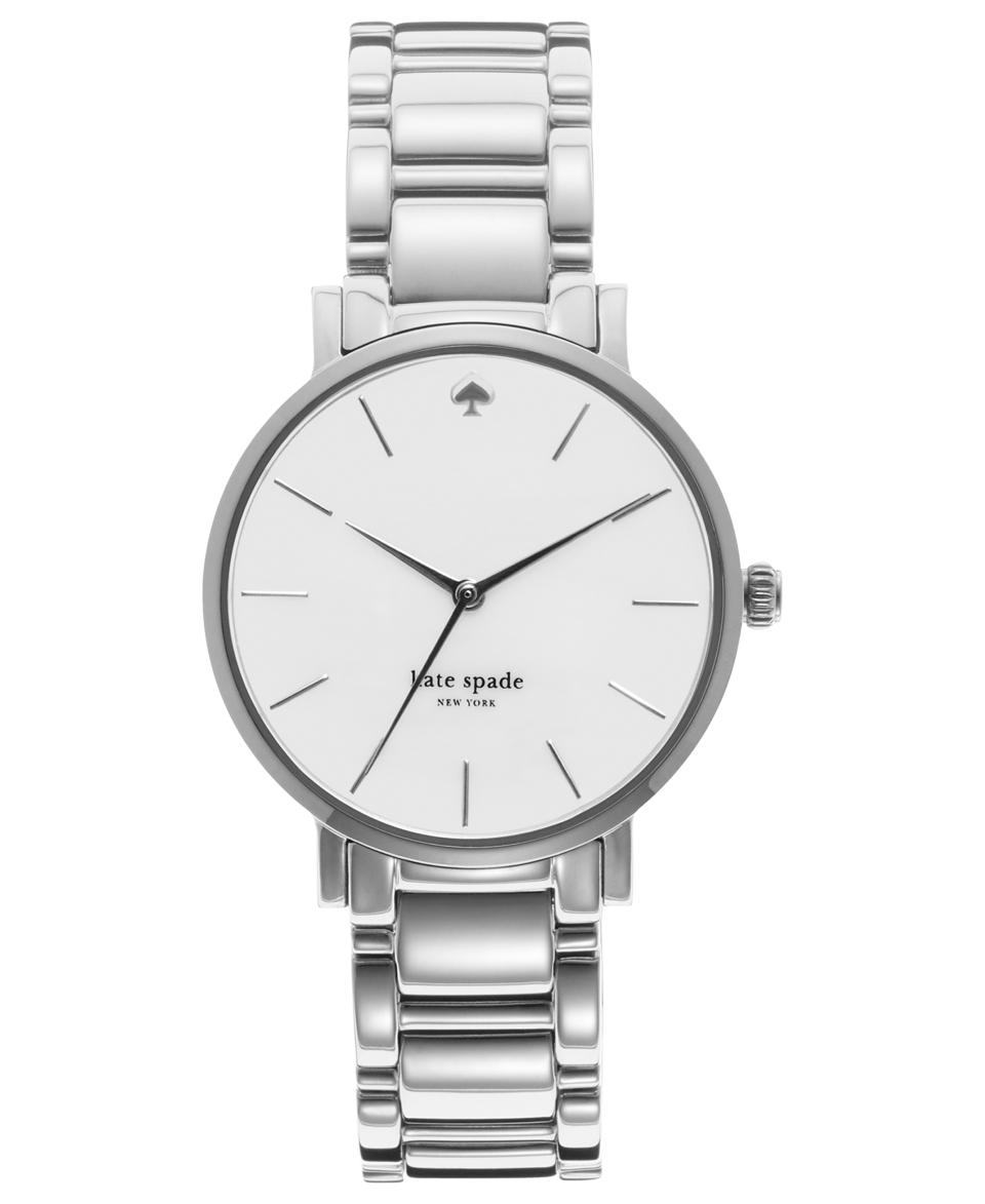 kate spade new york Watch, Womens Gramercy Stainless Steel Bracelet 34mm 1YRU0001   Watches   Jewelry & Watches