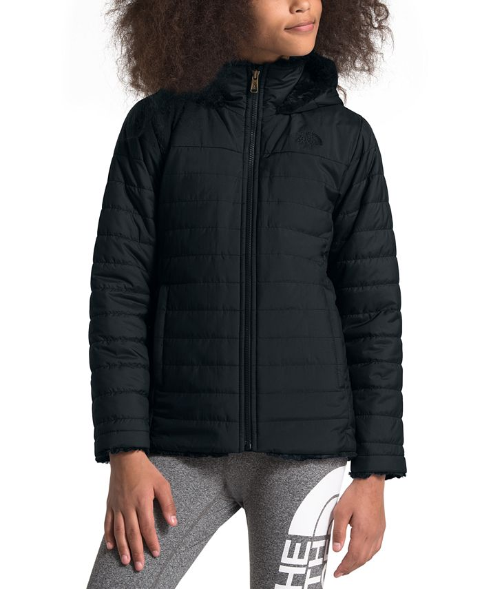 The North Face - Little & Big Girls Mossbud Swirl Hooded Jacket
