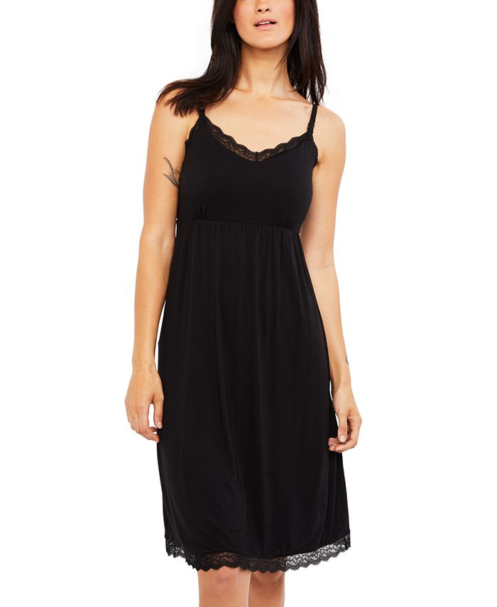 A Pea in the Pod - Babydoll Clip-Down Nursing Nightgown