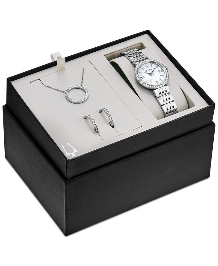 Bulova - Women's Stainless Steel Bracelet Watch 33mm