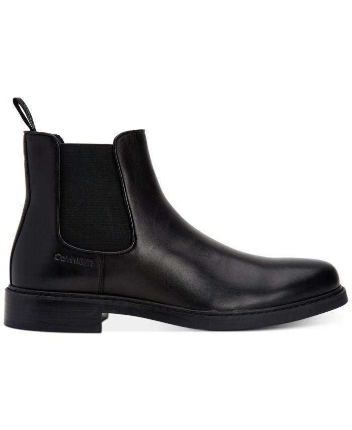 Calvin Klein Men's Fenwick Dress Casual Chelsea Boots & Reviews - All Men's Shoes - Men - Macy's