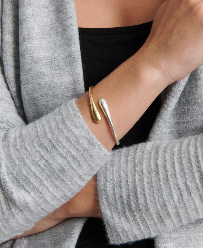Lucky Brand Two-Tone Bypass Bracelet & Reviews - Bracelets - Jewelry & Watches - Macy's