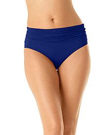 Anne Cole High-Waist Bikini Bottoms