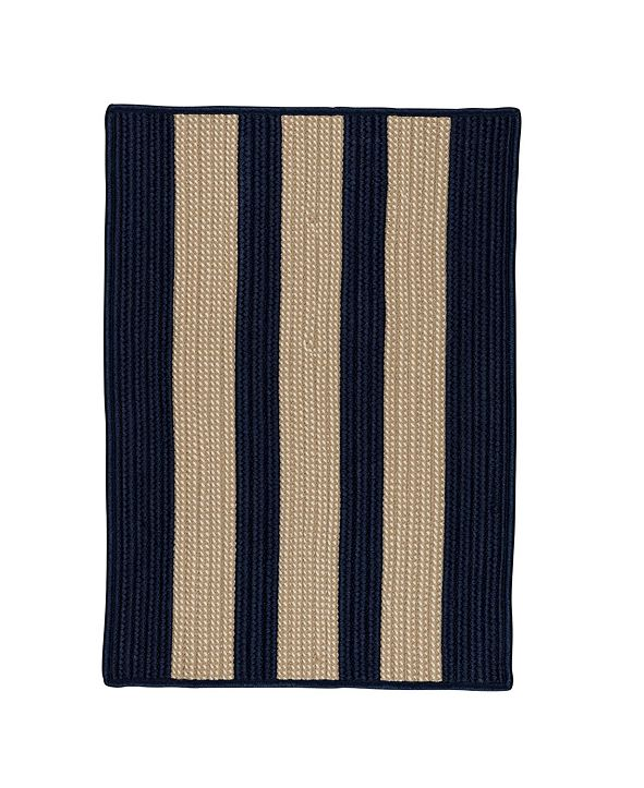 Colonial Mills Boat House Navy 2' x 4' Accent Rug