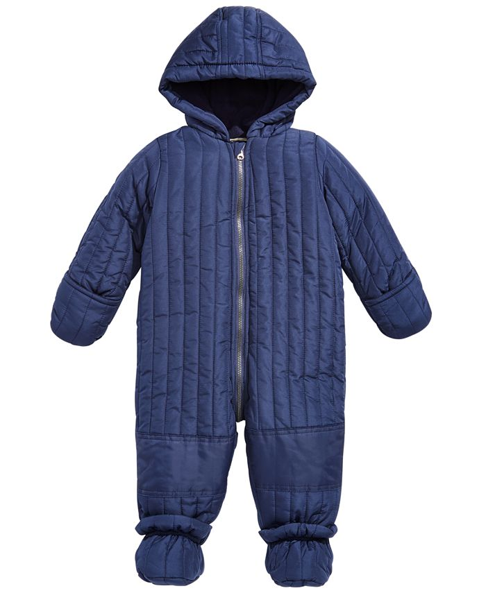 First Impressions - Baby Boys Quilted Snowsuit