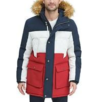 Deals on Tommy Hilfiger Long Snorkel Coat