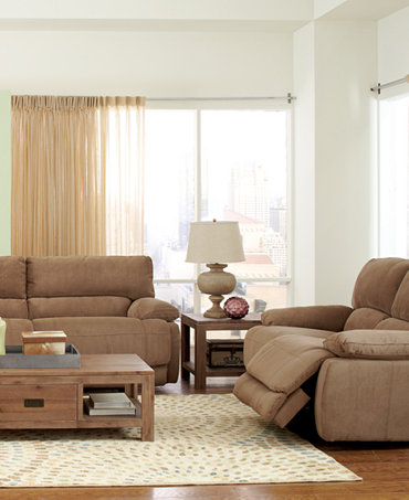 Nina Fabric Sofa Living Room Furniture Collection Power Reclining Furnitur