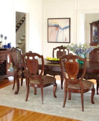 bordeaux louis philippe style dining room furniture collection - Bordeaux Louis Philippe Style Bedroom Furniture Collection