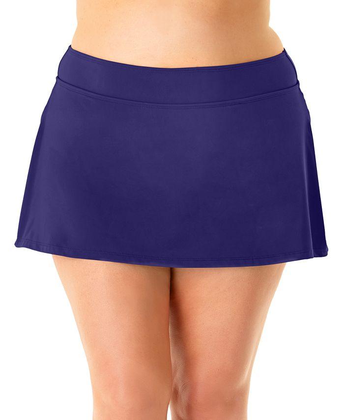 Anne Cole - Plus Size Swim Skirt