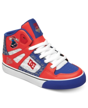 DC Shoes Kids Shoes Boys Spartan HI Wild Grinders Sneakers