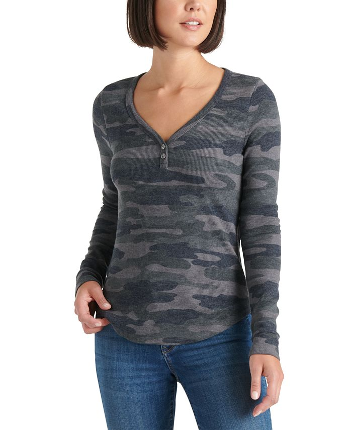Lucky Brand - Camo Thermal Top