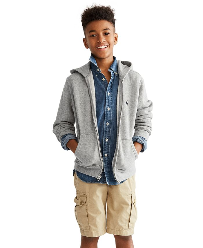 Polo Ralph Lauren - Boys' Full Zip Hoodie