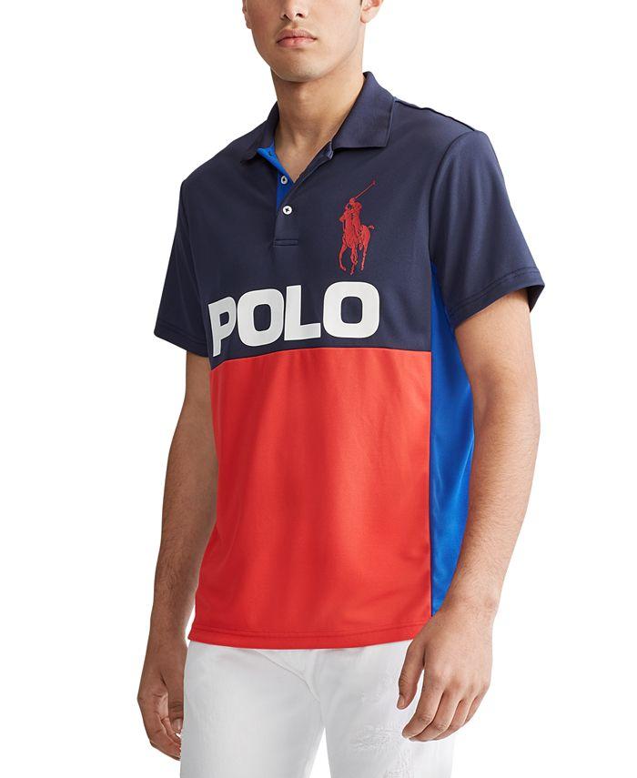 Polo Ralph Lauren Men's Big & Tall Performance Pique Logo Polo ...