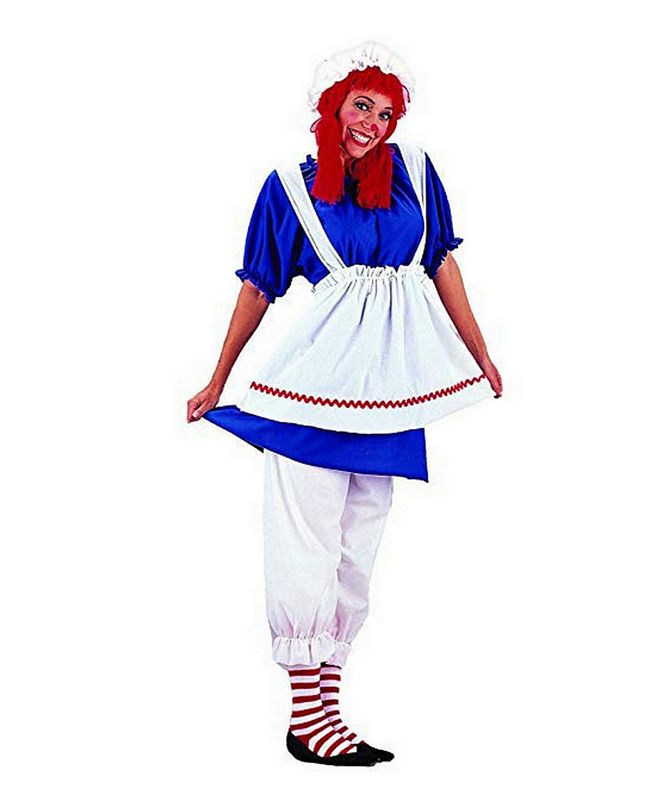 BuySeasons Women's Rag Doll Adult Costume
