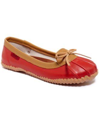 Chooka Women's Stud Eyelet Skimmer Rain Shoes