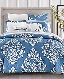 Charter Club Damask Designs Outline Damask Bedding Collection, Created for Macy's