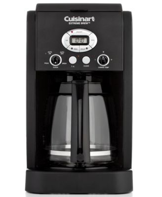 Cuisinart Black Matte DCC-2650BW Coffee Maker, 12 Cup Extreme Brew