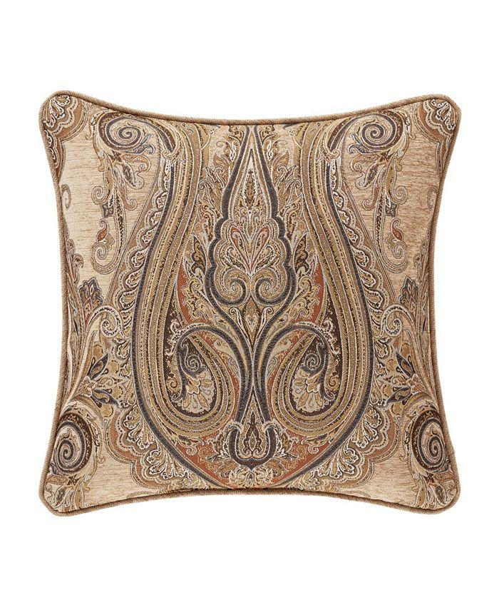 "J Queen New York - Luciana   Indigo Indigo 20"" Square Decorative Throw Pillow"