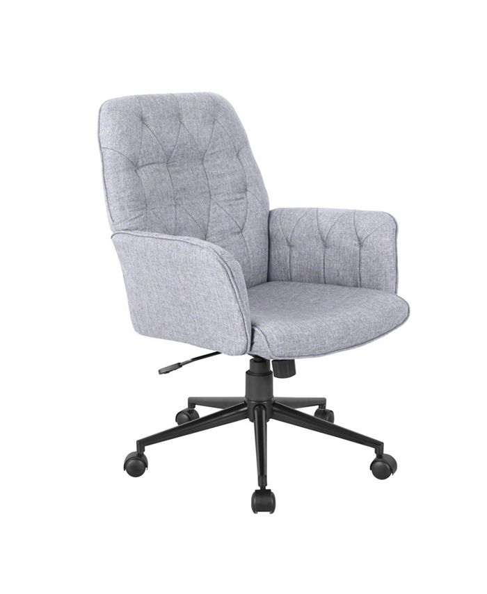 RTA Products - Techni Mobili Tufted Office Chair, Quick Ship