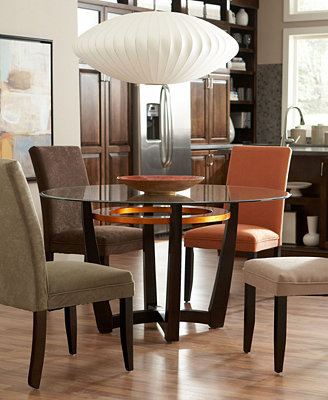 cappuccino dining room furniture collection furniture kent cappuccino gathering table dining room set by