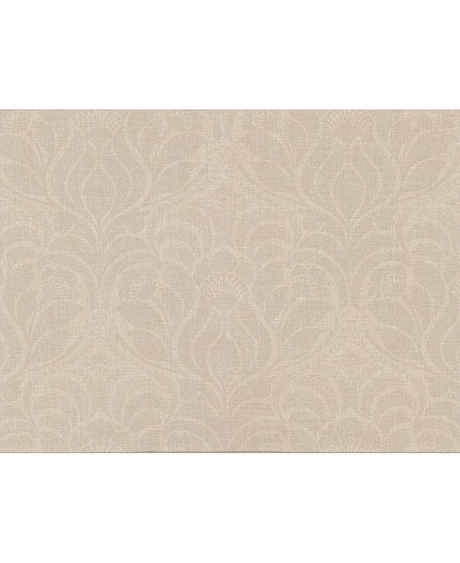 "Warner Textures 27"" x 324"" Sandor Damask Wallpaper"