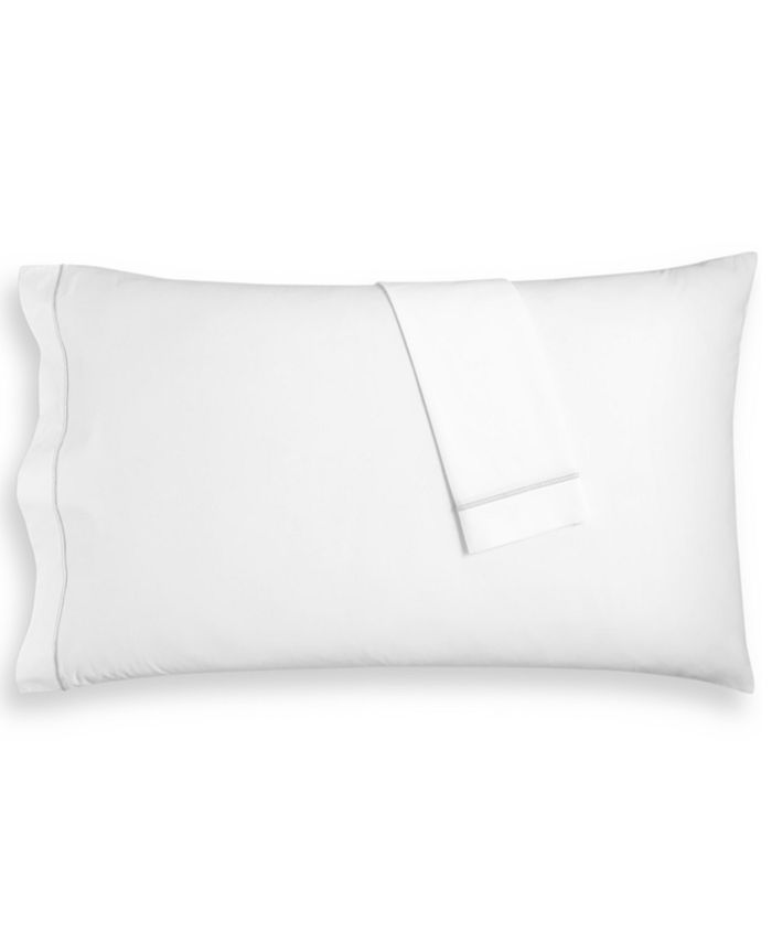 Hotel Collection - Italian Percale Cotton 2-Pc. Standard Pillowcase Set