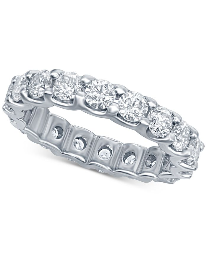 Macy's - Diamond Eternity Band (3 ct. t.w.) in 14k White Gold