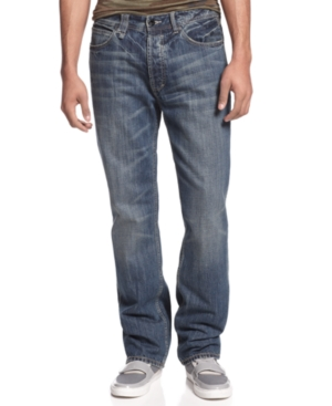 Sean John Jeans Zip Hamilton Straight Leg Jeans