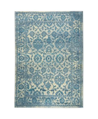 "CLOSEOUT! Global Rug Design Venus VEN07 Ivory 7'9"" x 10'2"" Area Rug"