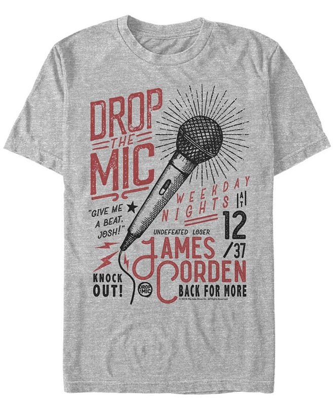 The Late Late Show James Corden Men's The Craft Of Rap Short Sleeve T-Shirt