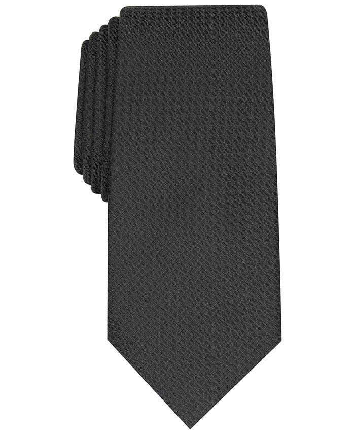Alfani - Men's Slim Textured Tie