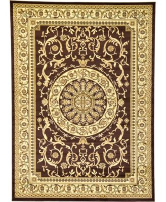 Belvoir Blv2 Brown 7' x 10' Area Rug