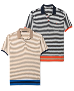 Sean John Shirt Fine Stripe Polo