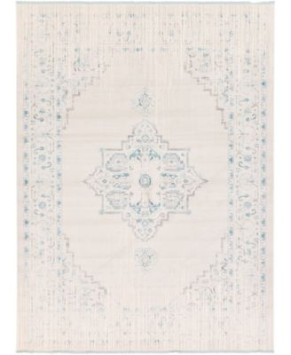 Norston Nor2 Ivory 7' x 10' Area Rug