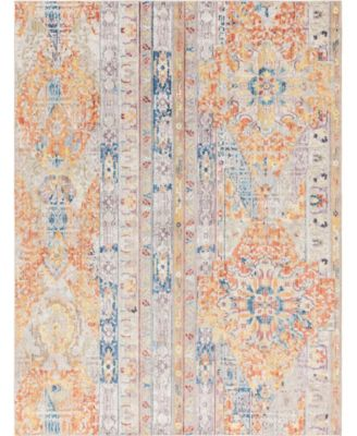 Nira Nir1 Orange 8' x 10' Area Rug