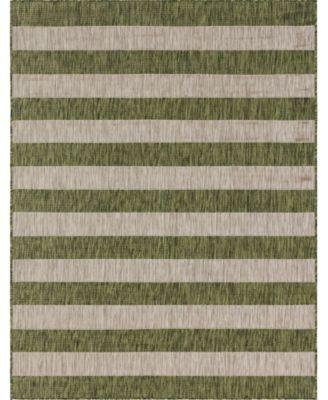 Pashio Pas7 Green 9' x 12' Area Rug