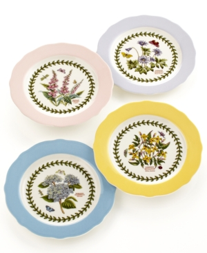 Portmeirion dinnerware sets dishes and china for Portmeirion dinnerware set of 4 botanic garden canape plates