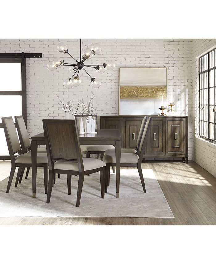 Furniture - Monterey II Dining , 7-Pc. Set (Table & 6 Side Chairs)