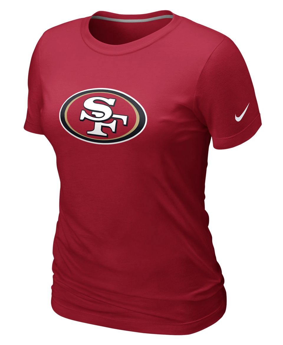 Nike NFL Womens Shirt, San Francisco 49ers Basic Logo T Shirt   Sports Fan Shop By Lids   Men