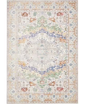 Malin Mal2 Light Gray 8' x 10' Area Rug