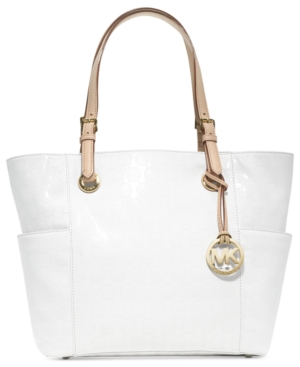 Michael Kors Signature Patent East West Tote
