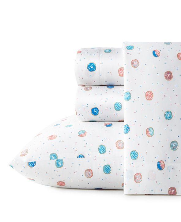 Poppy & Fritz Polka Donuts Twin Sheet Set