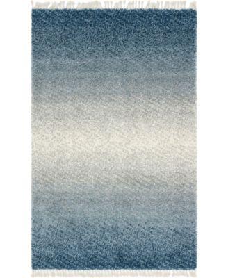 Lochcort Shag Loc5 Blue 3' 3