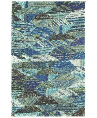 CLOSEOUT! Arcata Arc4 Blue 8' x 8' Round Area Rug