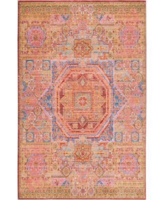 Malin Mal3 Peach 8' x 10' Area Rug