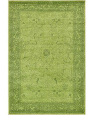 Aldrose Ald4 Green 13' x 18' Area Rug