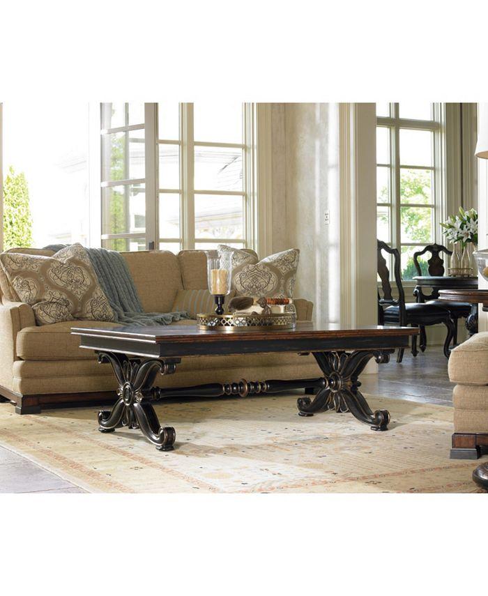 Hooker Furniture - Grandover Rectangle Cocktail Table