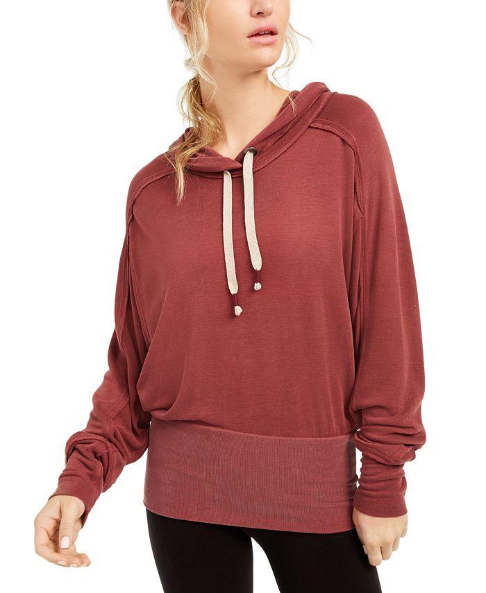 Free People - Drawstring Pullover Hoodie